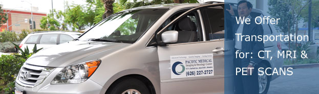 Transportation Service For CT, MRI & PET Scans